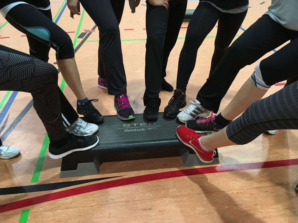 Stepper Trendy Etapa,Gymnastik,Sport,Reha,Turnen,Fitness,Fitnesskurs